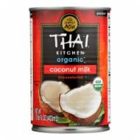 Thai Kitchen Organic Lite Coconut Milk - Case of 12 - 13.66 Fl oz. - 13.66 FZ