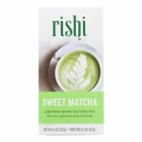 Rishi - Green Tea Powder - Sweet Matcha - Case of 6 - 4.4 oz - Case of 6 - 4.4 OZ each