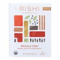 Rishi Organic Tea - Masala Chai - Case of 6 - 15 Bags - Case of 6 - 15 BAG each