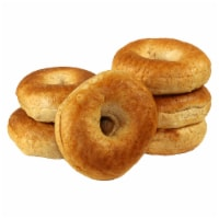 Just Bagels Sliced Whole Wheat Bagel, 4 Ounce -- 48 per case.