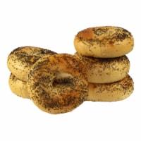 Just Bagels Poppy Bagel, 4 Ounce -- 48 per case.