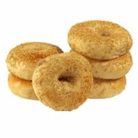 Just Bagels Sesame Bagel, 4 Ounce -- 48 per case.
