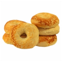 Just Bagels Asiago Cheese Bagel, 4 Ounce -- 48 per case. - 8-6 EACH