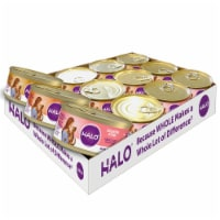 Halo Grain Free Natural Wet Cat Food Variety Pack - 12 ct / 5.5 oz