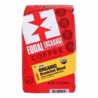 Equal Exchange Organic Drip Coffee - Breakfast Blend - Case of 6 - 12 oz.