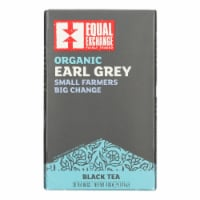 Equal Exchange Organic Earl Grey Tea - Grey Tea - Case of 6 - 20 Bags