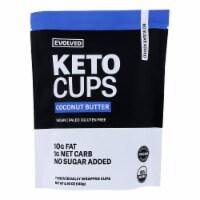 Evolved - Keto Cups Og2 Coconut Btr - CS of 6-4.93 OZ - Case of 6 - 4.93 OZ each
