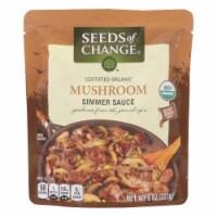 Seeds Of Change Mushroom Simmer Sauce - Case of 6 - 8 OZ - 8 OZ