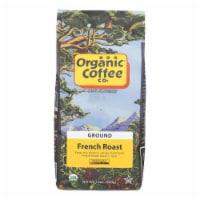 Organic Coffee Coffee - Organic - Ground - French Roast - 12 oz - case of 6 - Case of 6 - 12 OZ each