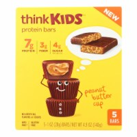 Think Kids Peanut Butter Cup Protein Bars - Case of 6 - 5/1 OZ - Case of 6 - 5/1 OZ each