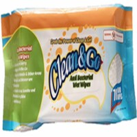 70 Count Anti Bacterial Wipes In Pouch - 1