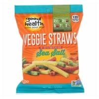 Good Health Veggie Straws - Sea Salt - Case of 24 - 1 oz.