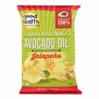 Good Health Kettle Chips - Avocado Oil Jalapeno - Case of 12 - 5 oz. - Case of 12 - 5 OZ each