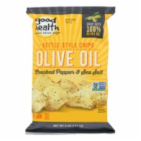 Good Health Kettle Chips - Cracked Peppe and Sea Salt - Case of 12 - 5 oz. - Case of 12 - 5 OZ each