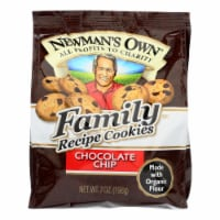 Newman's Own Organics Cookies - Chocolate Chip - Case of 6 - 7 oz. - Case of 6 - 7 OZ each