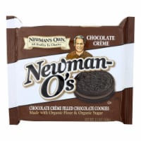 Newman's Own Organics Creme Filled Cookies - Chocolate - Case of 6 - 13 oz. - Case of 6 - 13 OZ each