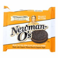 Newman's Own Organics Creme Filled Chocolate Cookies - Peanut Butter - Case of 6 - 13 oz. - Case of 6 - 13 OZ each