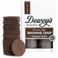 Dewey's Bakery Brownie Crisp Cookie Thins .9OZ PK 6 - 6