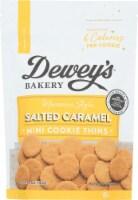 Dewey's Bakery Salted Caramel Mini Cookie Thins .5 OZ PK 6 - 6
