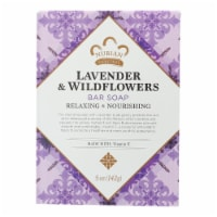 Nubian Heritage Bar Soap Lavender And Wildflowers - 5 oz - 1