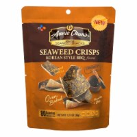 Annie Chun'S Seaweed Snacks Korean Style Bbq Flavored - Case Of 10 - 1.27 Oz - 1.27 OZ
