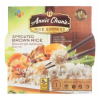 Annie Chun's Rice Express Sprouted Brown Sticky Rice - Case of 6 - 6.3 oz. - Case of 6 - 6.3 OZ each
