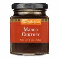 Sukhi's Gourmet Indian Food Chutney - Mango - Case of 6 - 8 oz. - Case of 6 - 8 OZ each
