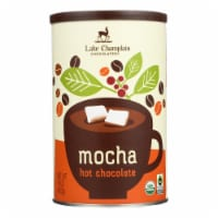 Lake Champlain Chocolates Mocha Hot Chocolate Mix Org Mexican Coffee w Rich Cocoa-6Case-16oz - Case of 6 - 16 OZ each