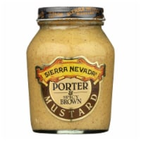 Sierra Nevada Specialty Food Mustard - Porter and Spicy Brown - Case of 6 - 8 oz. - Case of 6 - 8 OZ each