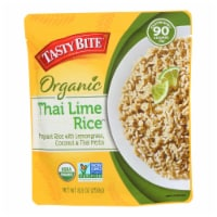 Tasty Bite Rice - Thai Lime - 8.8 oz - case of 6 - Case of 6 - 8.8 OZ each