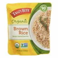 Tasty Bite Rice - Organic - Brown - 8.8 oz - case of 6 - Case of 6 - 8.8 OZ each