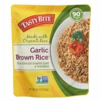 Tasty Bite Rice - Garlic Brown - 8.8 oz - case of 6 - Case of 6 - 8.8 OZ each