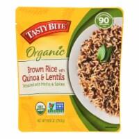 Tasty Bite - Brown Rice Quinoa Lentil - Case of 6 - 8.8 OZ - Case of 6 - 8.8 OZ each