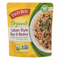 Tasty Bite - Rice Beans Cuban Styl - Case of 6 - 8.8 OZ - Case of 6 - 8.8 OZ each