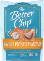 The Better Chip Sweet Potato Plantain Whole Grain Chips Non GMO, 6.4oz (Pack of 2)