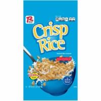 Ralston Foods Crispy Rice Cereal, 28 Ounce -- 4 per case. - 4-28 OUNCE