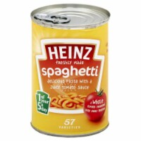 Heinz Spaghetti in Tomato Sauce, 13.3 Oz (Pack of 12) - 12