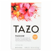 Tazo Tea Herbal Tea - Passion - Case of 6 - 20 BAG - Case of 6 - 20 BAG each