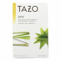 Tazo Tea Green Tea - Zen - Case of 6 - 20 BAG - Case of 6 - 20 BAG each