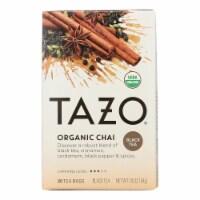 Tazo Tea Organic Tea - Spiced Black Chai - Case of 6 - 20 BAG - Case of 6 - 20 BAG each