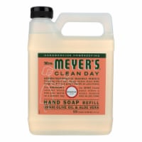 Mrs. Meyer's Clean Day - Liquid Hand Soap Refill - Geranium - Case of 6 - 33 fl oz.