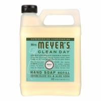 Mrs. Meyer's Clean Day - Liquid Hand Soap Refill - Basil - Case of 6 - 33 fl oz.