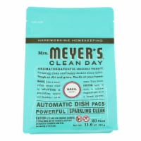 MRS. MEYER'S CLEAN DAY AUTOMATIC DISH PACKS, BASIL, 20 CT.