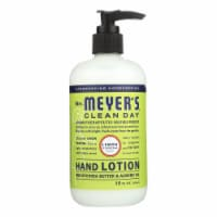 Mrs. Meyer's Clean Day - Hand Lotion - Lemon Verbena - Case of 6 - 12 fl oz - 6