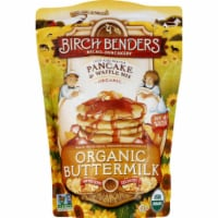 Birch Bender Pancake & Waffle Mix Organic Buttermilk , 16oz (Pack of 6)