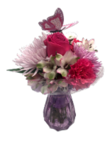 Passion Growers Mother's Day Masonette Arrangement (Approximate Delivery 1-3 Days)