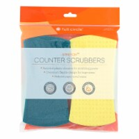 Full Circle Home - Stretch Counter Scrubbers - Case of 6 - 4 Count - Case of 6 - 4 CT each