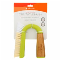 Full Circle Home - Brush Grout&tile Green - Case of 6 - 1 CT - Case of 6 - 1 CT each