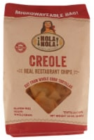 Hola Nola Creole Real Resturant Chips White Corn Tortillas Gluten Free 12oz (Pack of 9) - 9