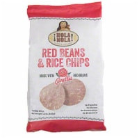 Hola Nola Red Beans & Rice Chips Tortilla  12oz (Pack of 9)
